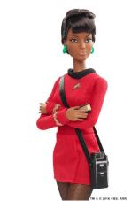 Nichelle Nichols Uhura Barbie 50th Anniversary
