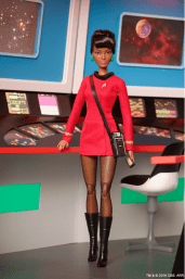Uhura Barbie-collection 01