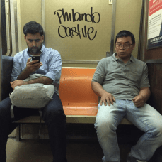 Tagged NYC Subway Car BlackLivesMatter
