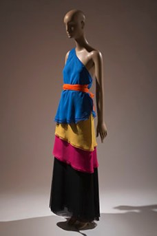 Stephen Burrows 1973 two piece FIT Black Designers Exhibit