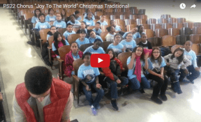PS22: Joy to the World