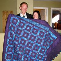 Ellis newlywed quilt