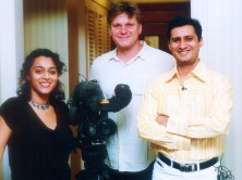 bbc Dale Bhagwagar after an interview on Bollywood PR for BBC - Pic 2