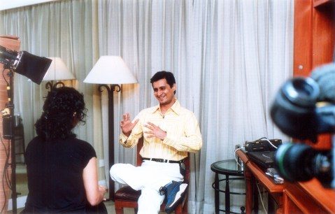 bbc Dale Bhagwagar giving an interview on Bollywood PR for BBC - Pic 1