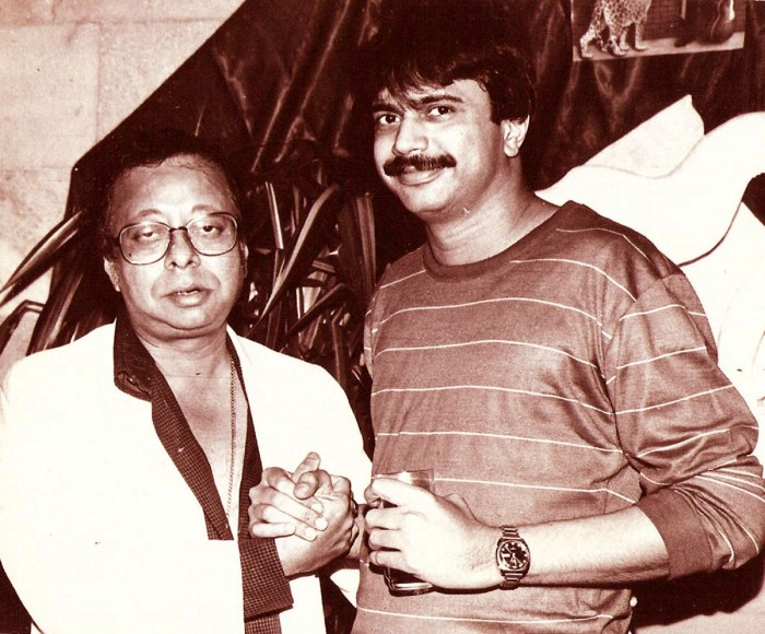Author Chaitanya Padukone with RD Burman