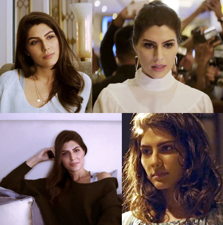 Elnaaz Norouzi in Sacred Games.