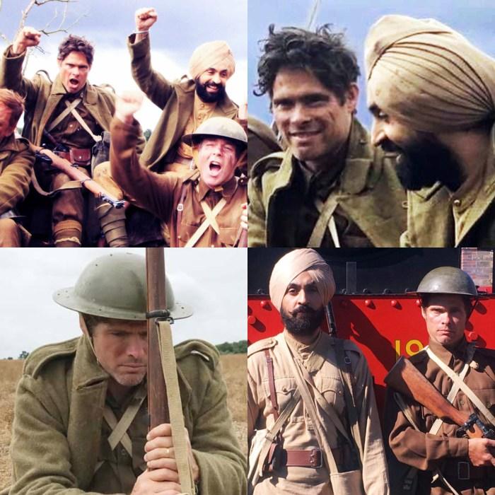 Alex Reece with Diljit Dosanjh in Sajjan Singh Rangroot.