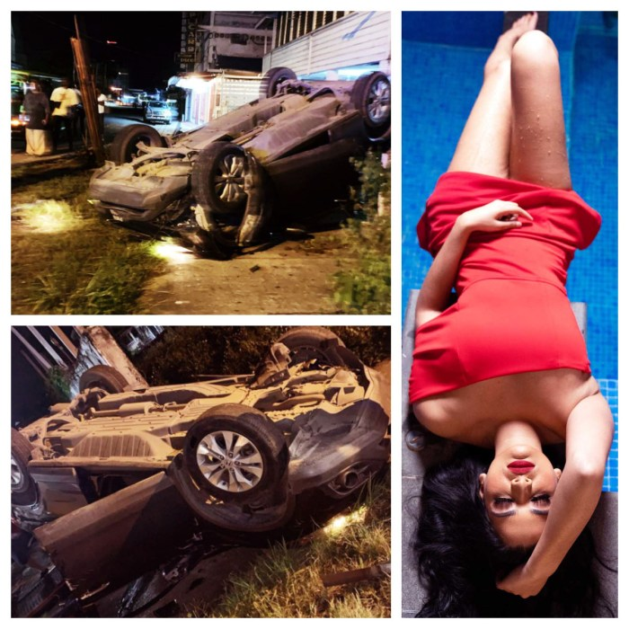 Kristal Inshan car tragedy. - Collage 3
