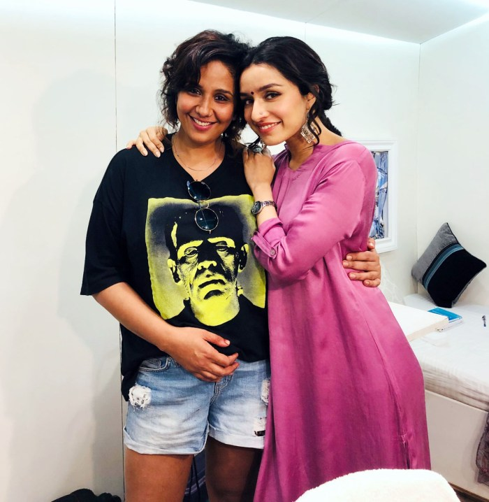 Preetisheel Singh on the sets of Chhichhore 3