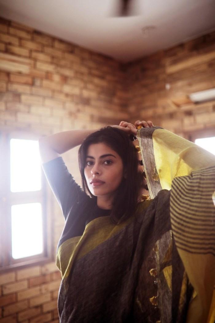 Anisha Victor - sari 2
