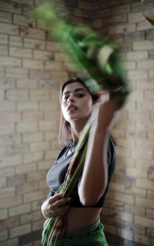 Anisha Victor - sari