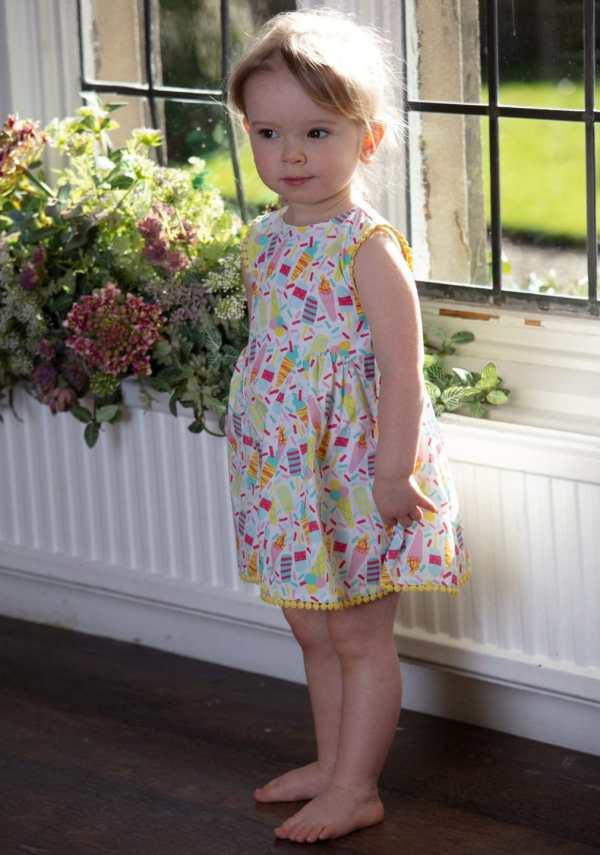 Ice cream baby dress