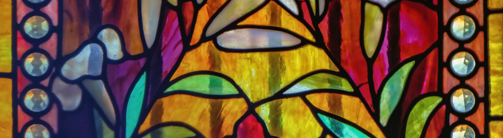 Before and After: Steel and Stained Glass