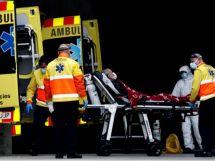 کورونا وائرس سے اسپین میں پہلی بار ریکارڈ 838 ہلاکتیں