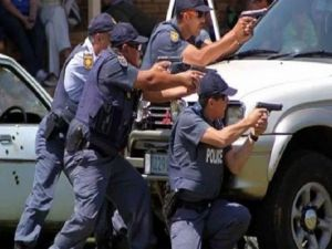 جنوبی افریقہ کی پولیس