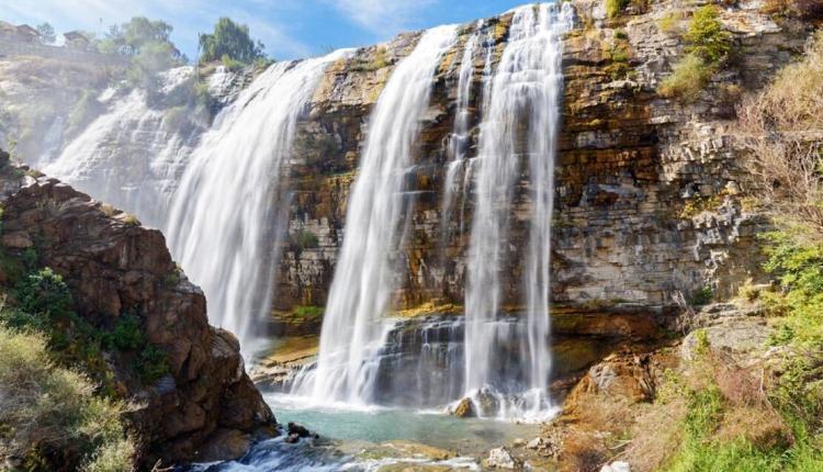شلال تورتوم أطول شلال في أسيا وأوربا ورابع أطول شلال في العالم