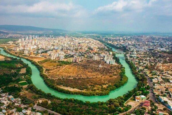 نهر غوكسو في مرسين
