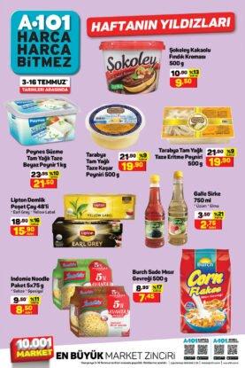 تخفيضات ماركت يوزبير A101 على المواد الاستهلاكية والغذائية