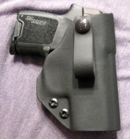 Jonathan Deep Concealment IWB, Blk, RH, Glock19/23 w/SF XC1, 1.75
