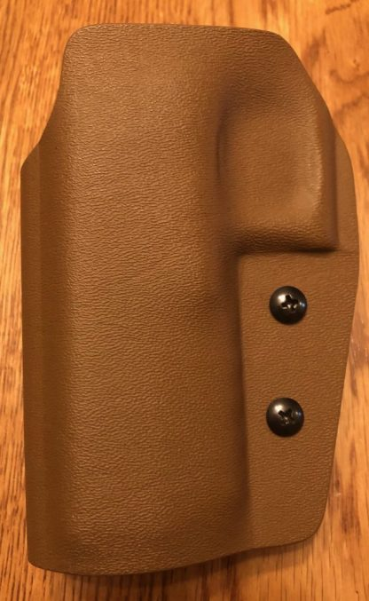 Gideon Elite Holster, LH, Coyote Brown, Glock 20/21 1.5 belt loop