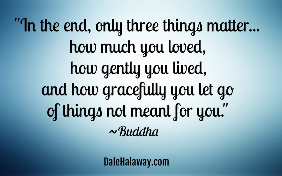 Are You Letting Go or Holding On?