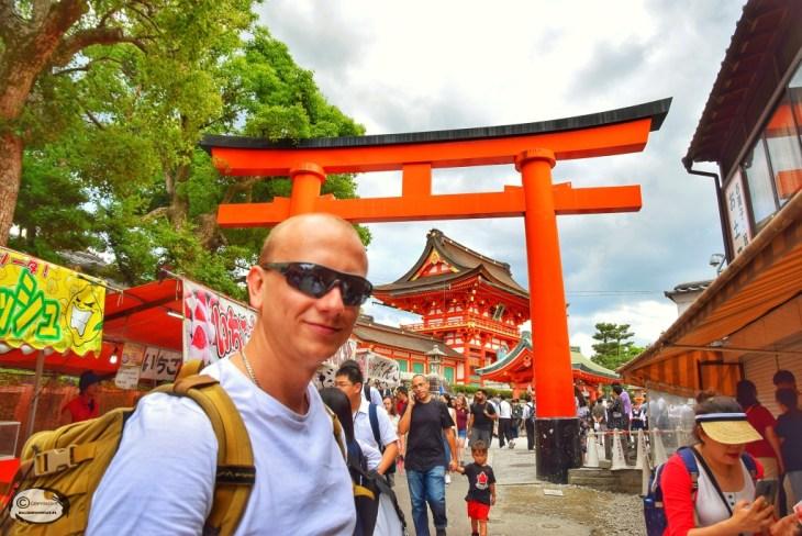 wejście do Fushimi Inari