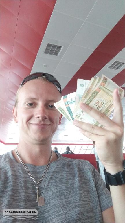 Kuba pieniądze CUC