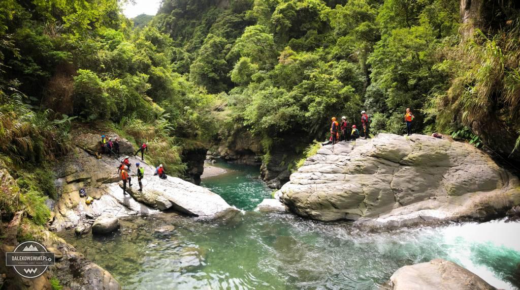 River tracing na Tajwanie