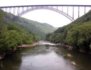 West Virginia's New River Bridge