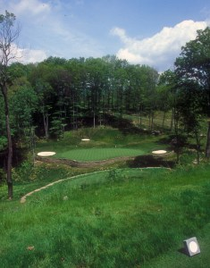 Raven Golf Club Hole 3. Copyright Donnelle Oxley