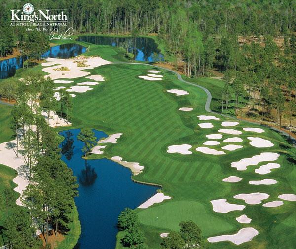 King's North Hole 18. Courtesy Myrtle Beach National Golf Club