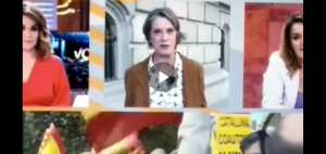 Franquista de VOX pasada de vuelta en la TV