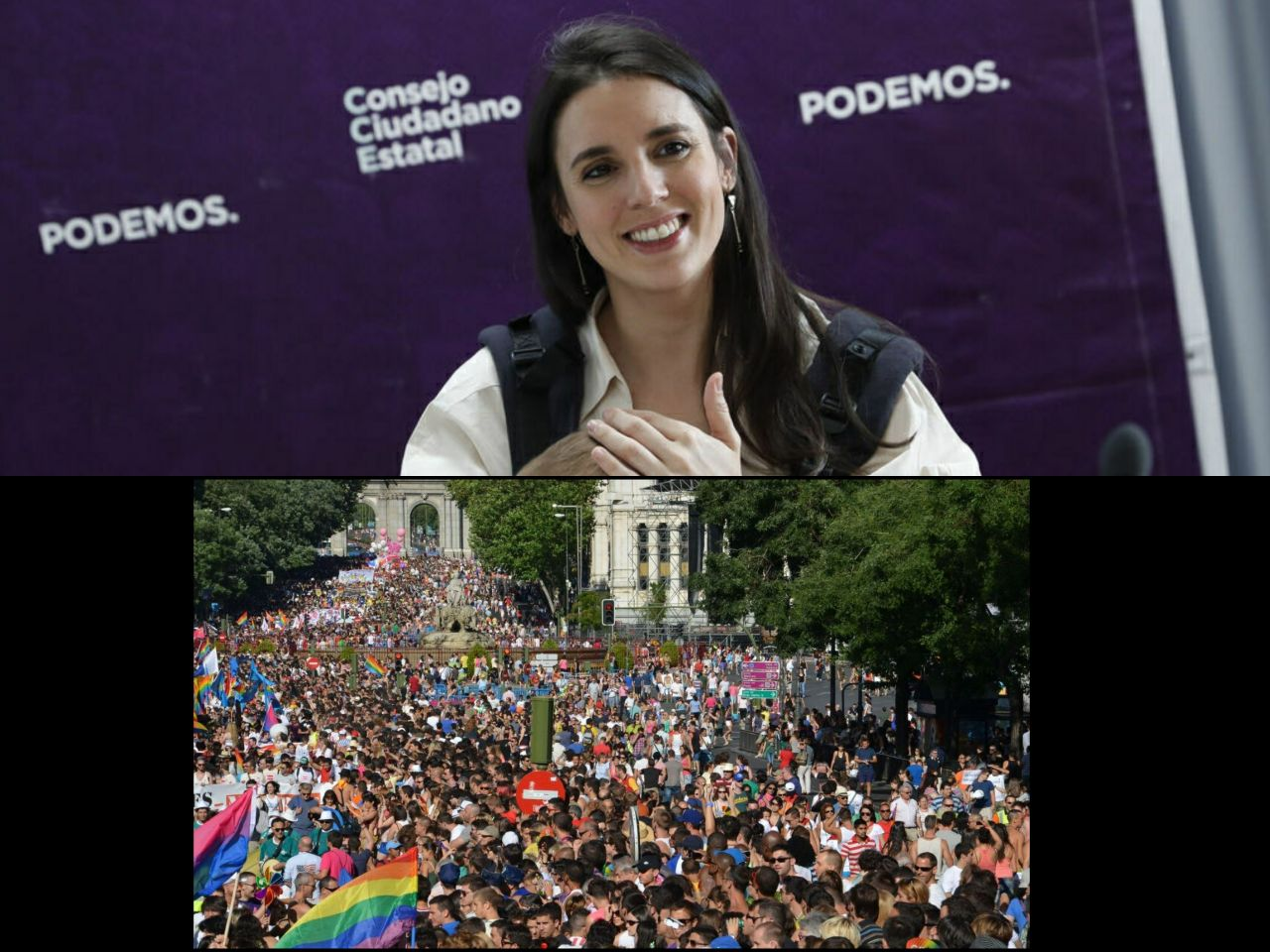 Unidas Podemos presiona al PSOE para acelerar la ley de libertad sexual.