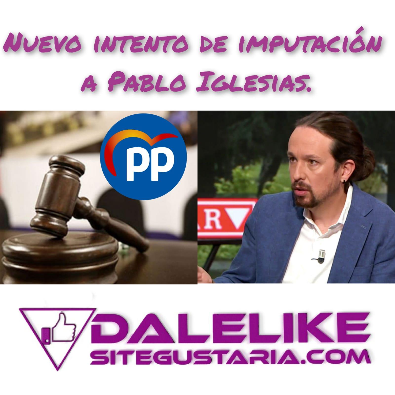 Operación fulminar a Pablo Iglesias.