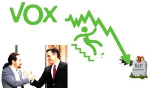 Un año después todos estamos mejor, pero Santiago Abascal tiene chalet y los jefes de VOX se hunden