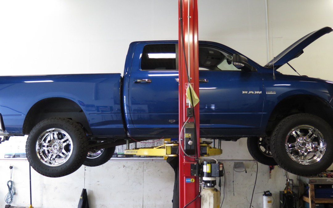 2010 Ram 1500 Bilstein 5100's with Readylift leveling kit and more…