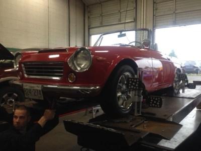 1969 Datsun Fairlady Roadster