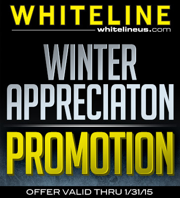 Whiteline Winter Appreciation Promotion