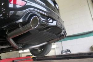 Jeep SRT-8 gets a new exhaust- Borla S-type axle back