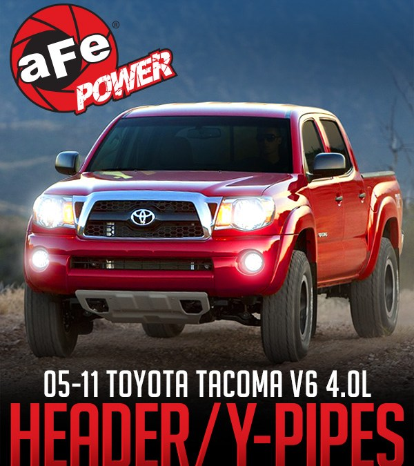 AFE POWER HEADER/Y-PIPES TOYOTA TACOMA V6-4.0L 2WD/4WD