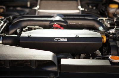 New COBB Product – Subaru Aluminum Radiator Shroud & Alternator Cover