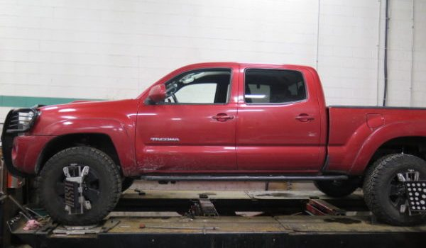 2008 Toyota Tacoma has a Toytec BOSS complete kit installed at Dales Auto Service