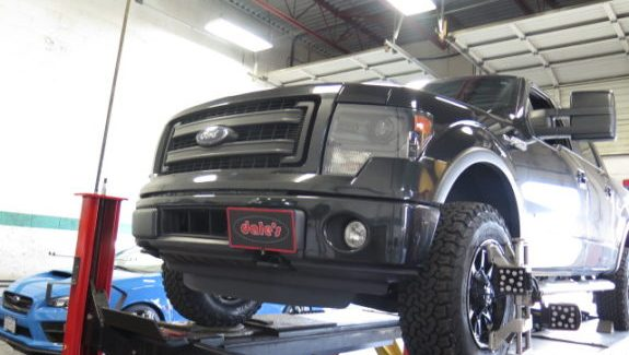 '15 F-150 getting FOX 2.0 coilovers, Readylift rear blocks and new rims/tires.