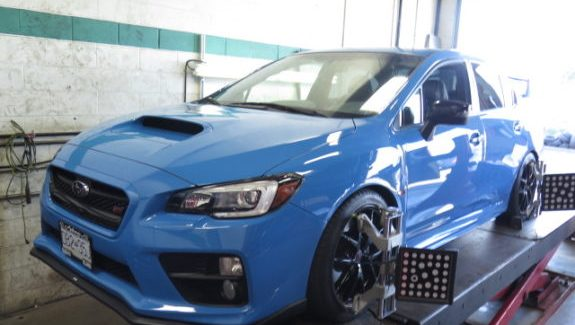 2016 Subaru WRX STi in for RCE Yellow Springs, COBB CAI and AccessPort