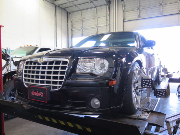 300C SRT8 in for ST Coilovers and a Performance 4 Wheel Alignment