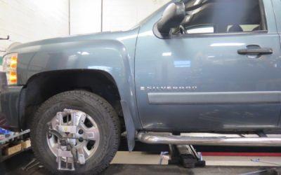 Silverado K1500 in for Bilstein Lifts Struts and Rear Shocks