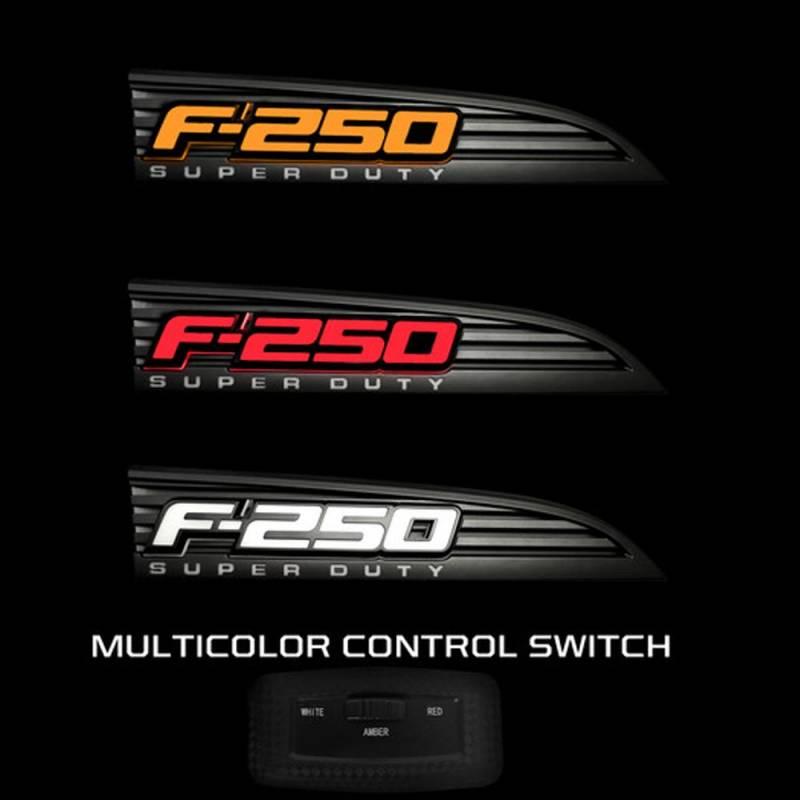 F250 Light Emblems