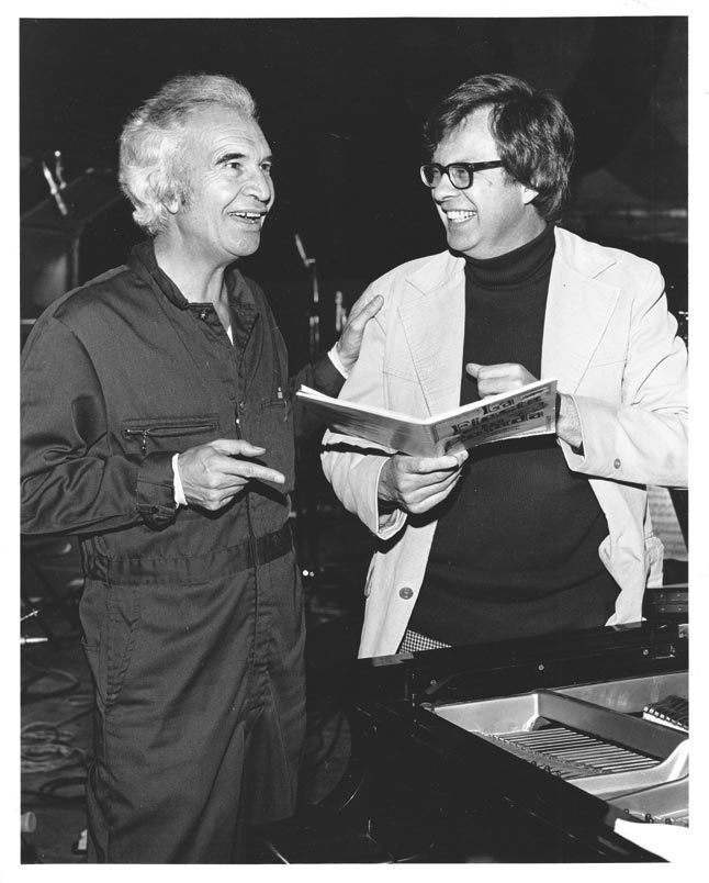Dave Brubeck with Dale Warland