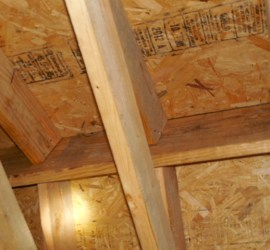 No ridge venting found in new home builders warranty inspection.