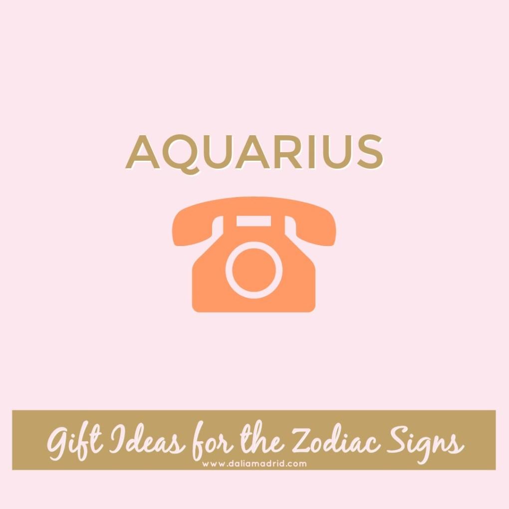 Gift idea for Aquarius: Smartphone